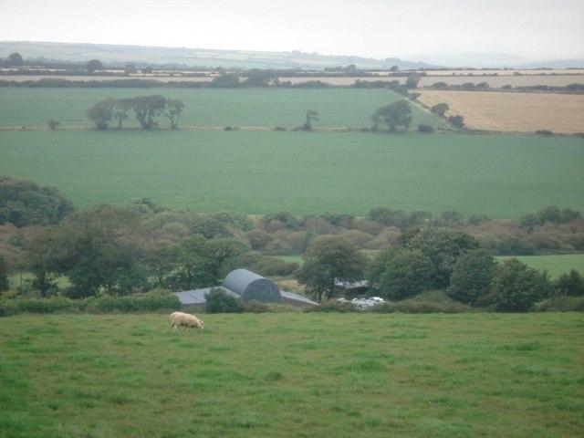 Farmland at Upper North Hill, Treffgarne