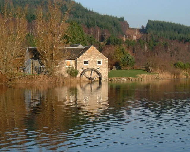 Loch Tummel Water Wheel