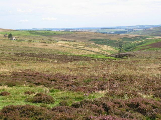 The valley of Burnhope Burn