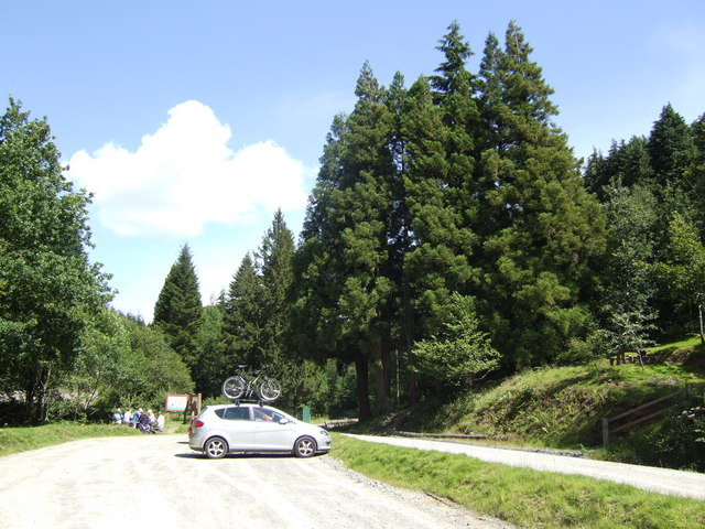 Car park for Halfway Forest walks