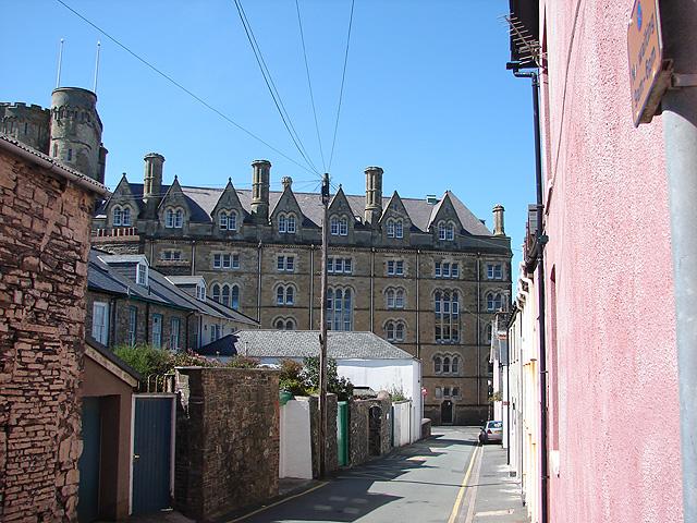 Castle Street, Aberystwyth