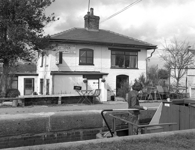 Willeymoor Lock House, Llangollen Canal