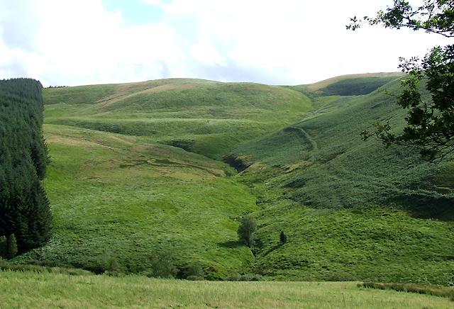 Nant  Gwyddil, Cwm Doethie Fawr, Ceredigion