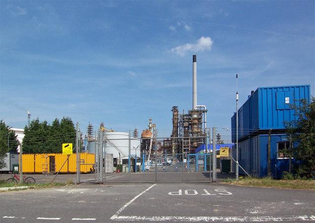 Refinery Chimney
