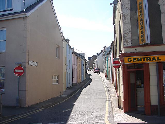 Y Lon Gefn/Gray's Inn Road