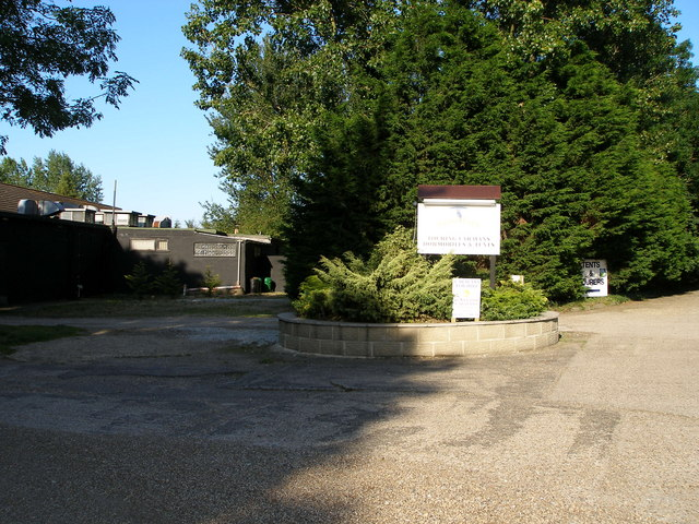 Entrance to Broad Farm Holiday Park