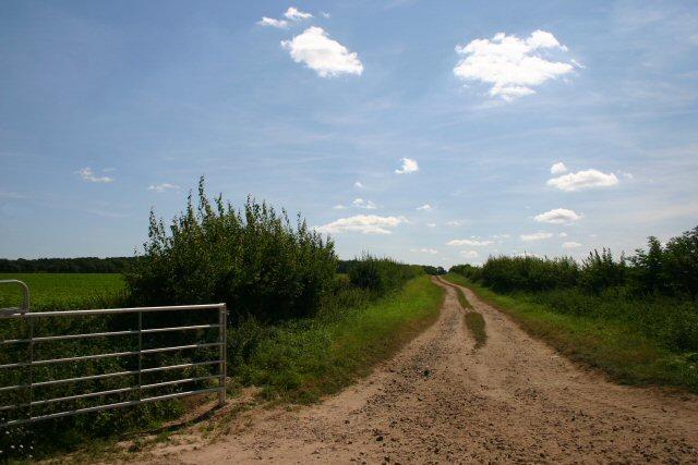 Track at Fenhouse Farm