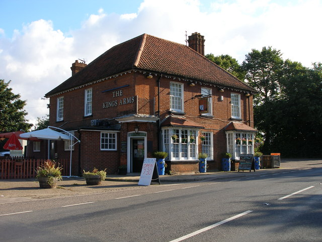 The King's Arms Pub on the A1064
