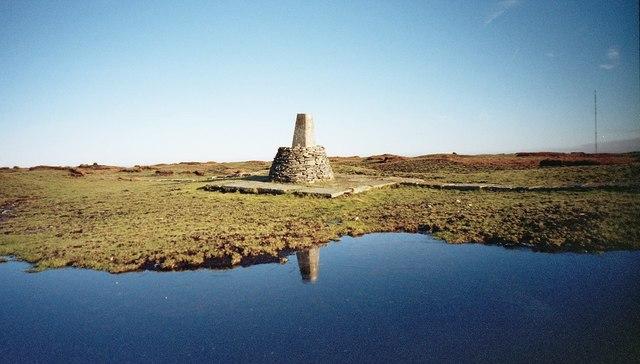 Black Hill (Holme Moss) Ordnance Survey Triangulation Pillar