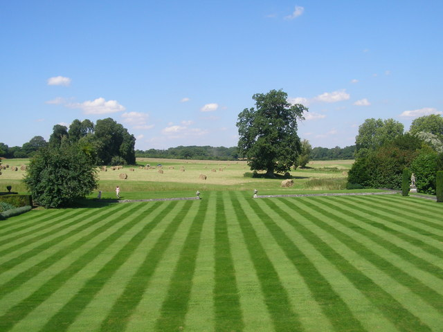 North lawn at Mottisfont Abbey