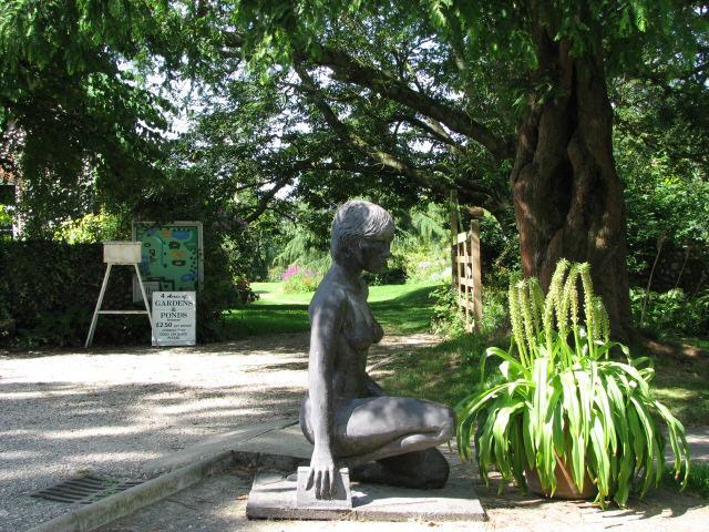 Entrance to Alby Gardens