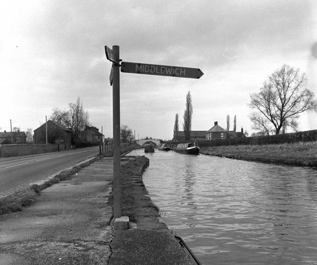 Barbridge Junction, Shropshire Union Canal
