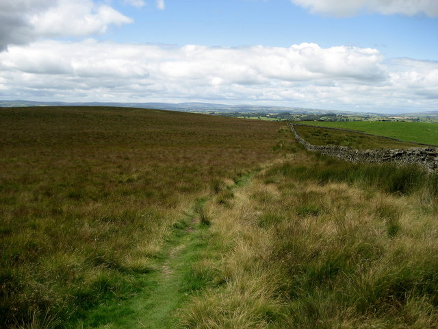 Pennine Way on Low Hill