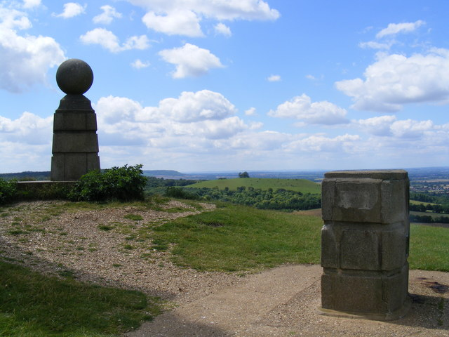 View south west from Coombe Hill