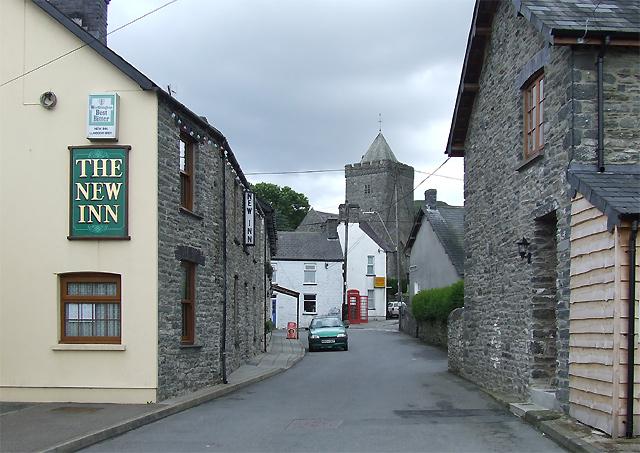 Llanddewi-Brefi Village, Ceredigion