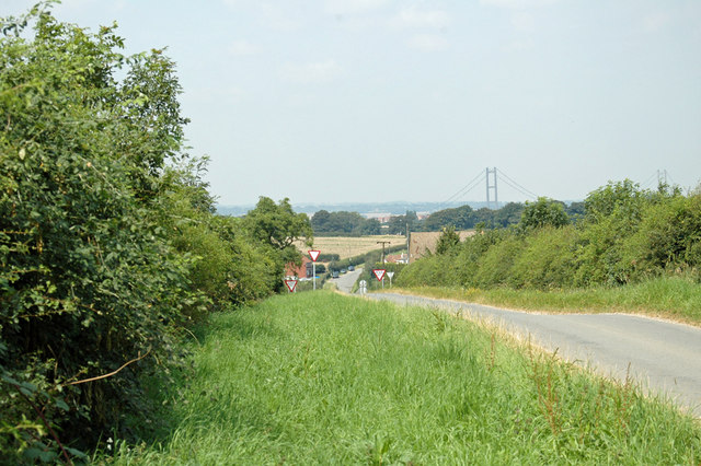 Looking towards Barton Upon Humber