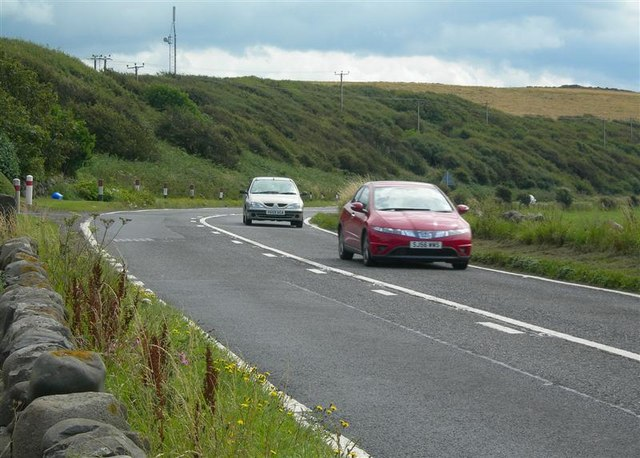 The A77 at Dunnymuck