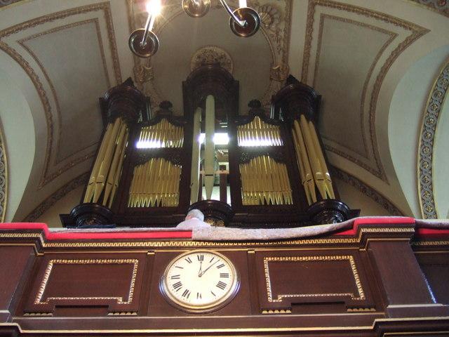 St Giles-in-the-Fields church organ
