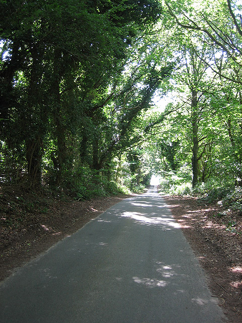 Heading south-west towards Red House
