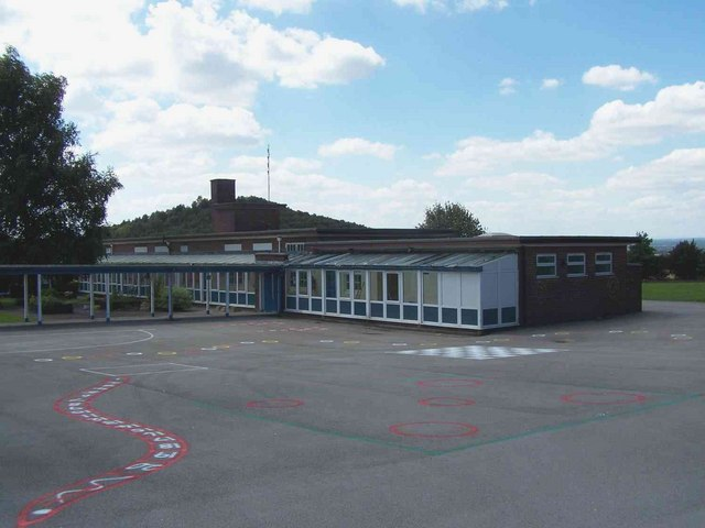 Rear of Huntington Junior School