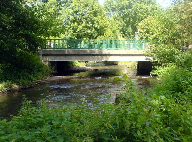 Road bridge over River Meden