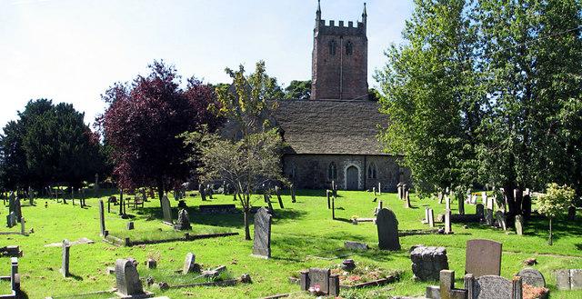 St Briavels churchyard