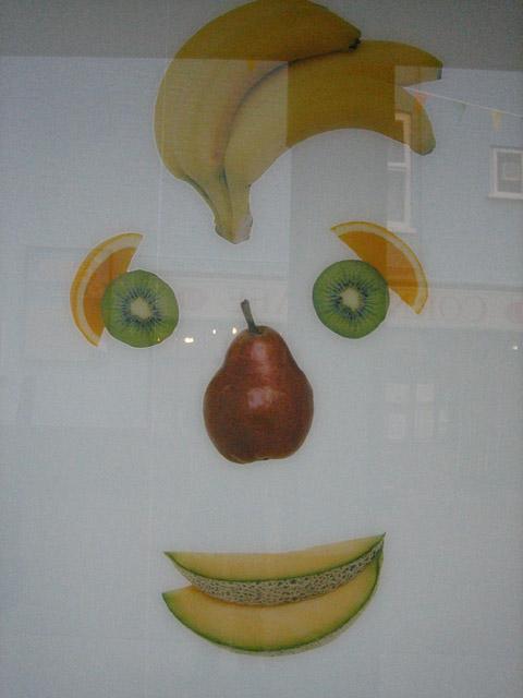 Fruit-face detail