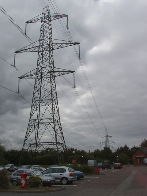 Pylon in motel car park
