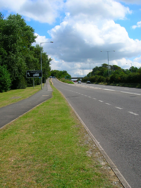 A27 Eastbound Carriageway