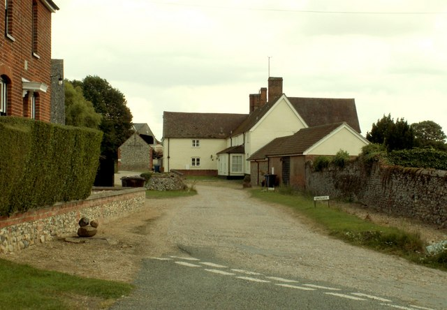 Looking towards Lidgate Hall