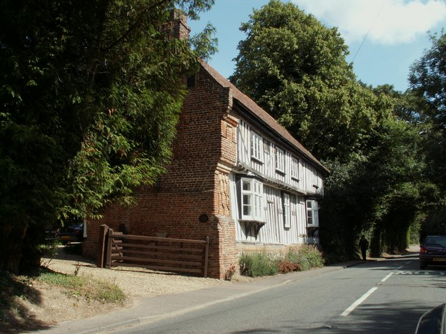 A view of Suffolk House in Lidgate