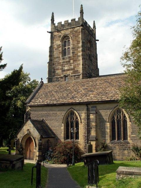 All saints Church Cawthorne.