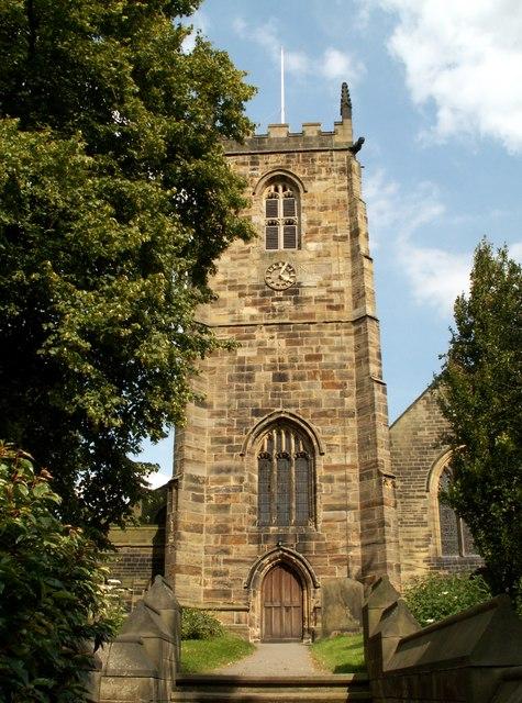 All Saints church Tower Cawthorne