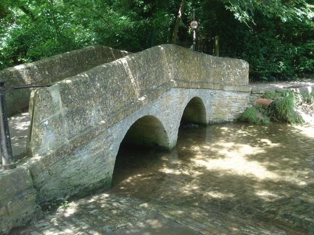 Footbridge at Lacock