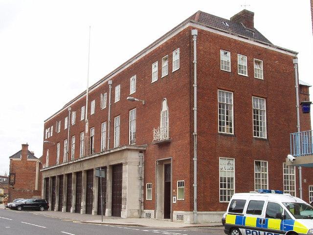 Norwich Fire Station, Bethel Street