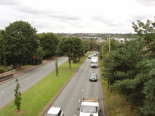 Grapes Hill A147 - inner ring road in Norwich