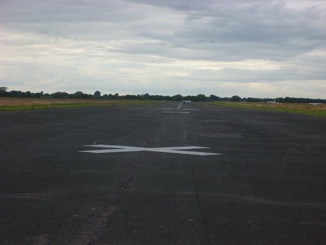 Sleap Airfield Runway 36