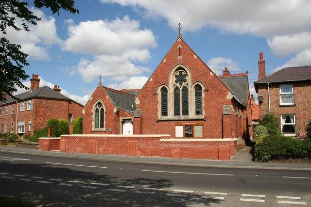 Wragby Methodist church