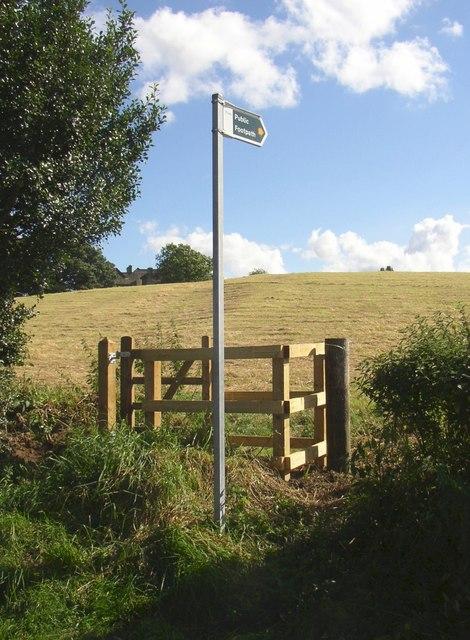 Footpath off Snelsins Lane, Cleckheaton