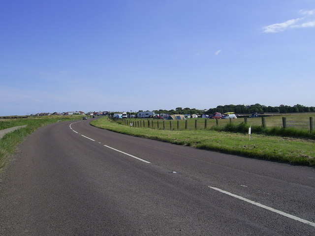 Beadnell camp site