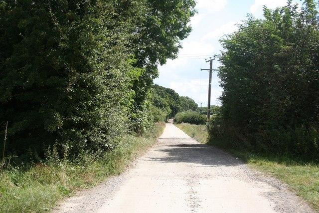 Lane to Primrose Hill