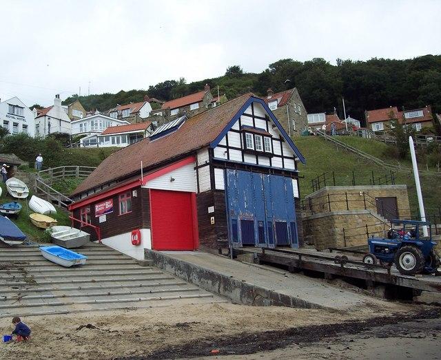 Lifeboat Station, Runswick Bay