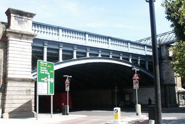 Tower Bridge Road Railway Bridge