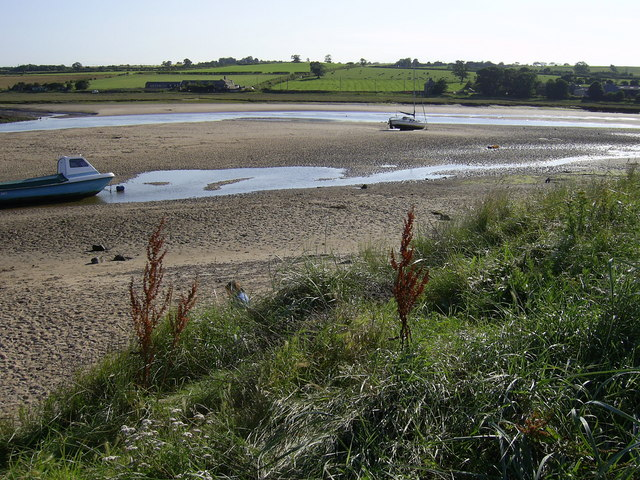River estuary Alnmouth
