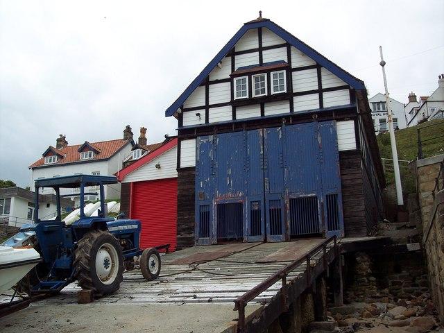 Runswick Bay Lifeboat Station
