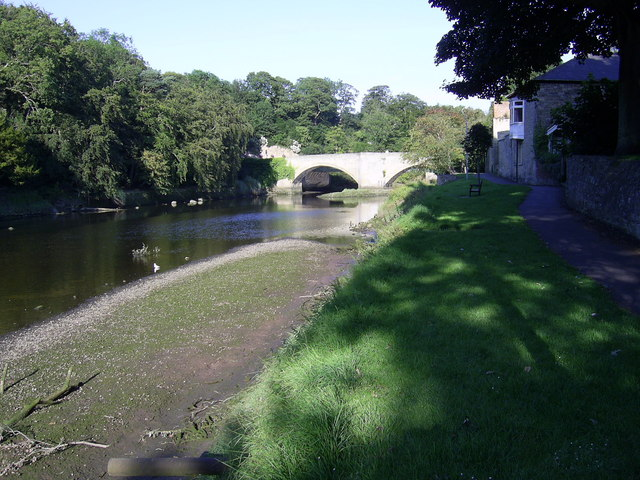 River Coquet at Warkworth