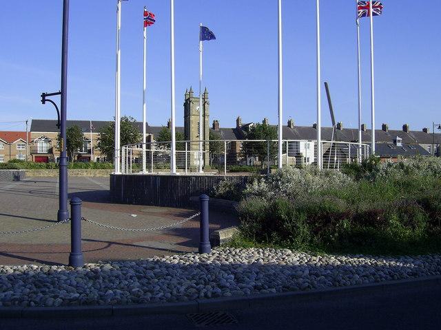 Town square, Amble
