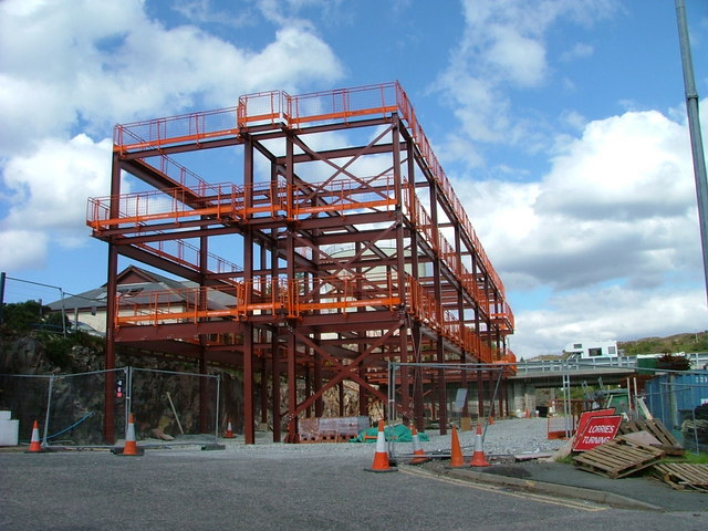 Construction of Kyle of Lochalsh Medical Centre