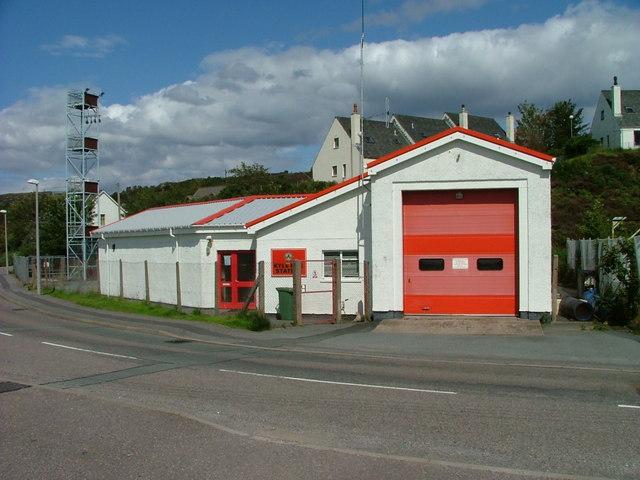 Kyle of Lochalsh Fire Station