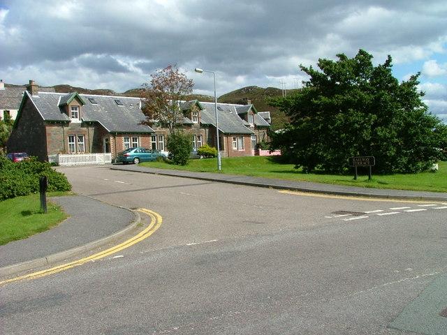 Railway Terrace, Kyle of Lochalsh